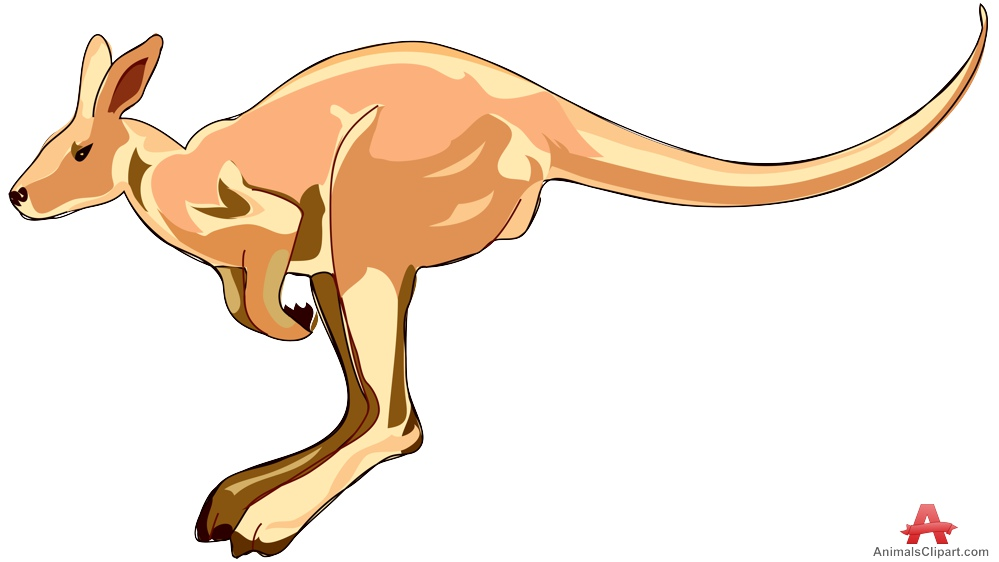 Wallaby clipart #1, Download drawings