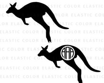 Kangaroo svg #3, Download drawings