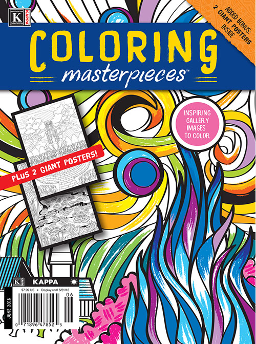 Kappa coloring #13, Download drawings