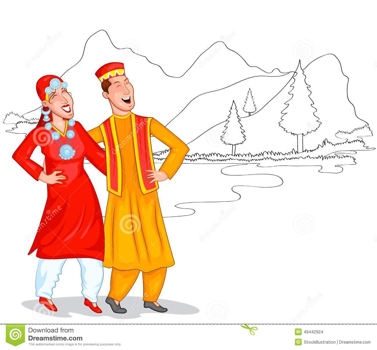 Kashmir clipart #3, Download drawings