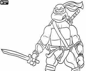 Katana coloring #7, Download drawings