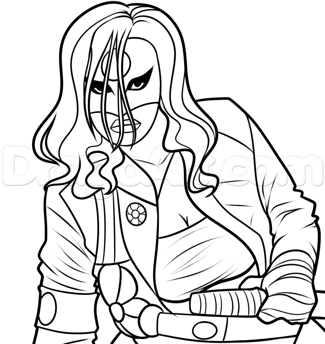 Katana coloring #10, Download drawings