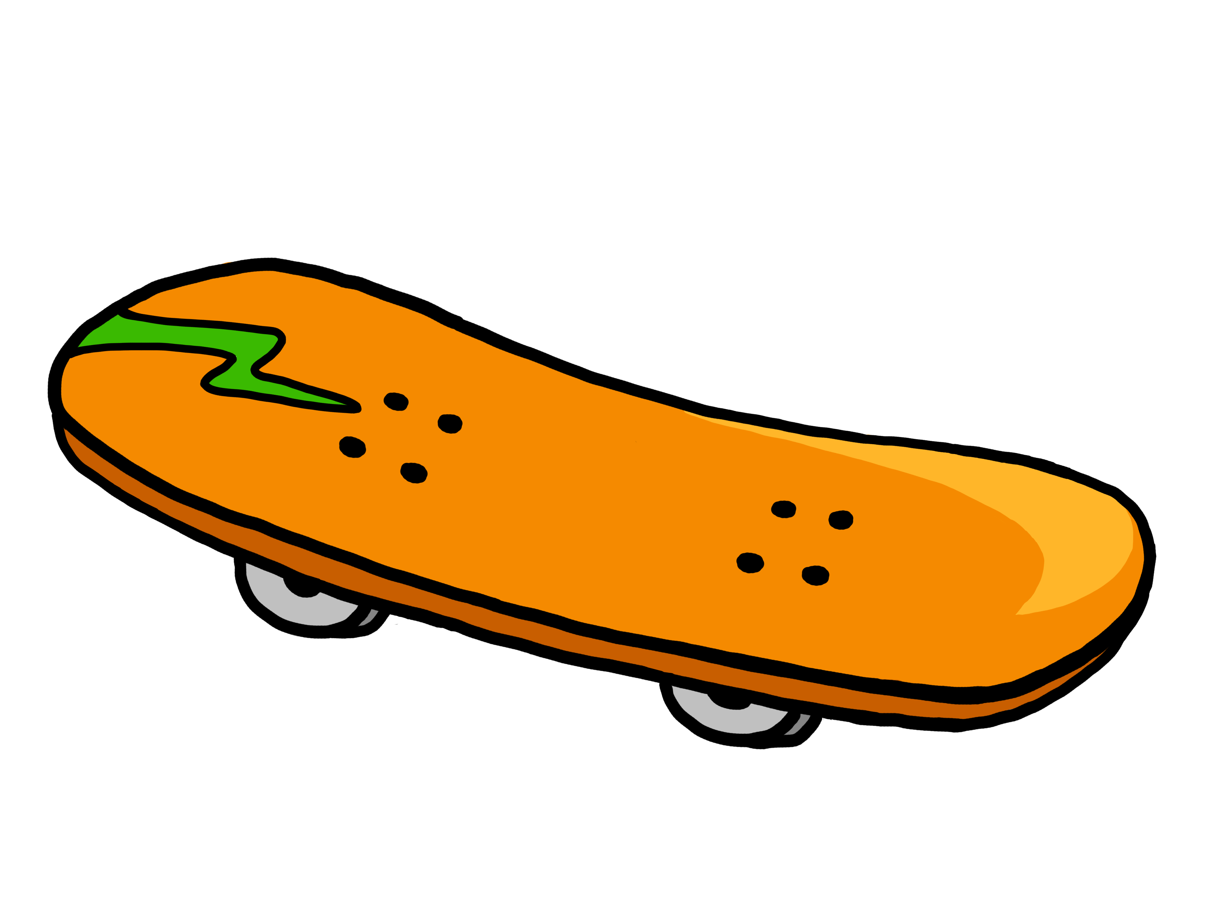 Skateboard clipart #13, Download drawings