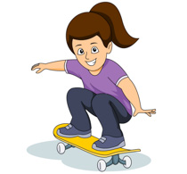 Skateboard clipart #16, Download drawings