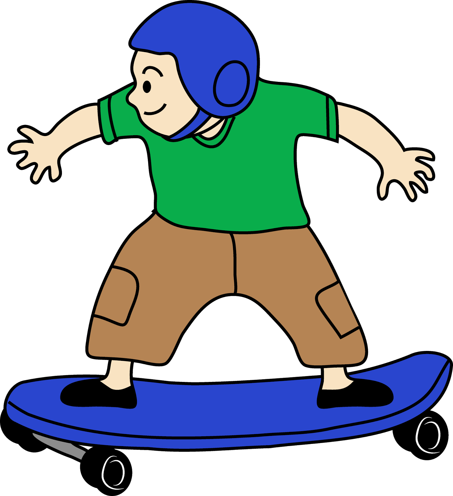 Skateboard clipart #3, Download drawings
