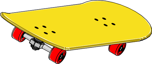 Skateboard clipart #7, Download drawings