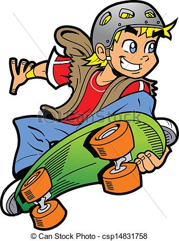 Skateboard clipart #12, Download drawings