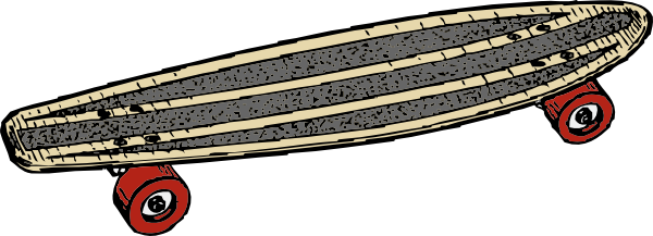 Skateboard clipart #10, Download drawings