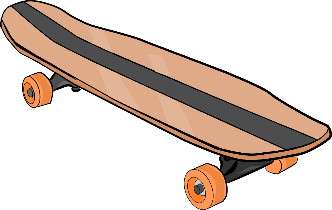 Skateboard clipart #18, Download drawings