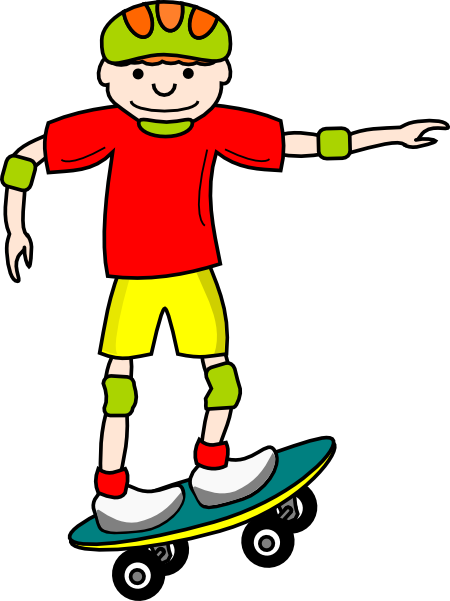 Skateboard clipart #2, Download drawings