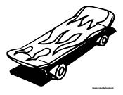 Kateboard coloring #18, Download drawings