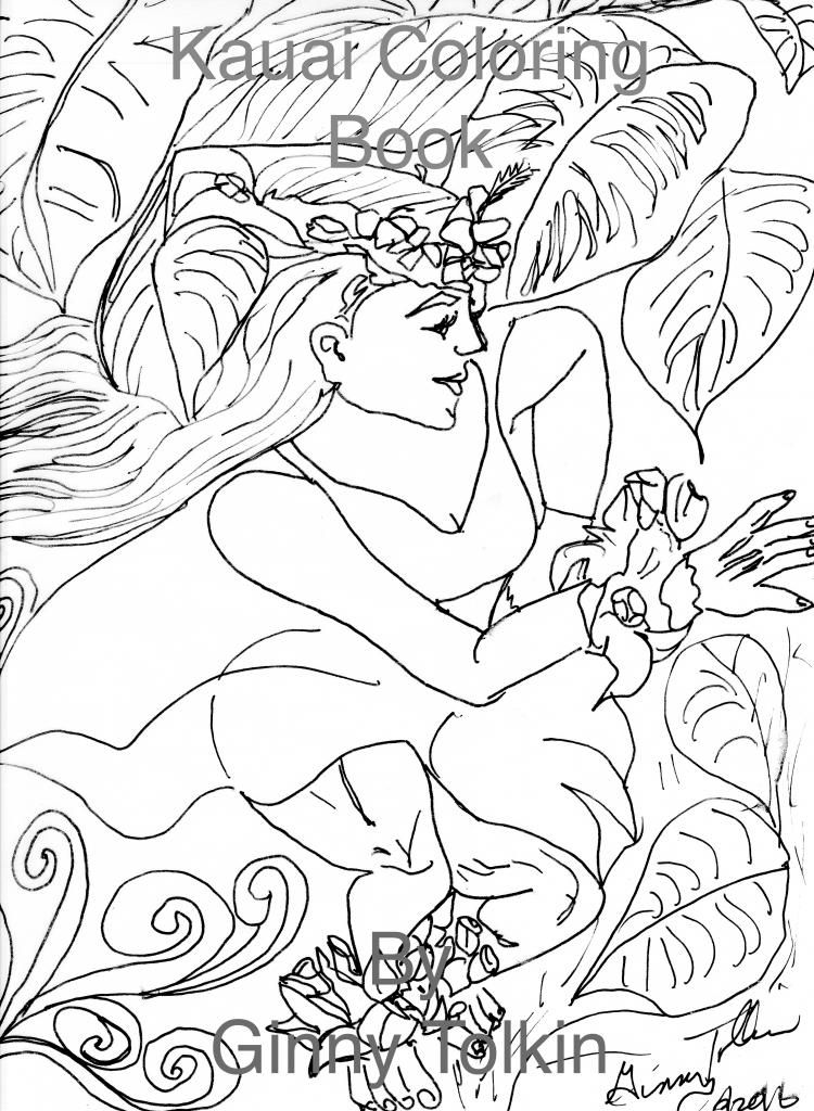 Kauai coloring #8, Download drawings