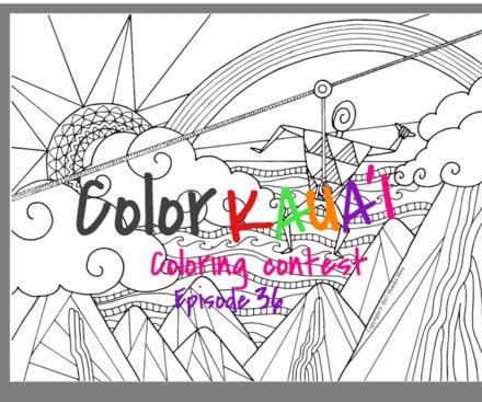 Kauai coloring #5, Download drawings