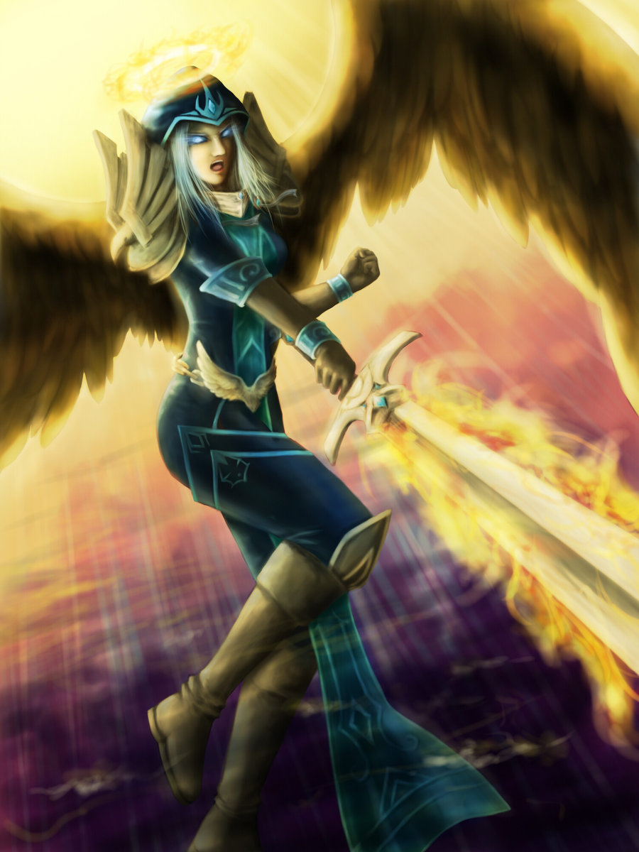 Kayle (League Of Legends) clipart #16, Download drawings