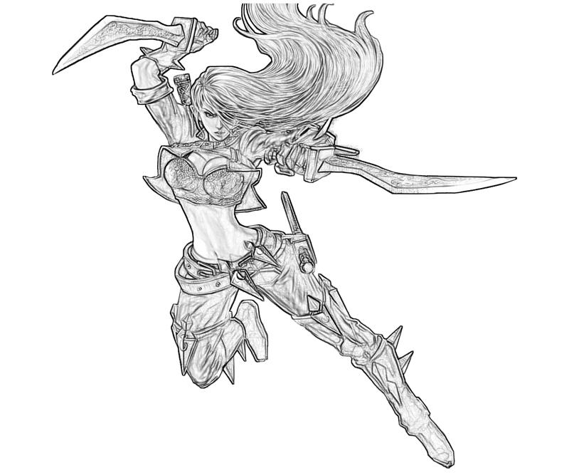 Kayle (League Of Legends) coloring #14, Download drawings