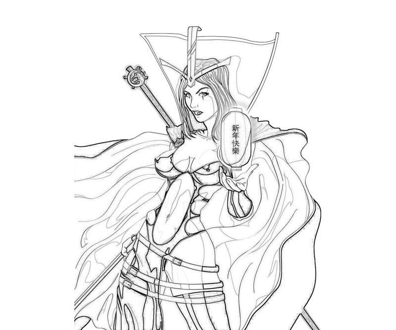 LeBlanc (League Of Legends) coloring #9, Download drawings