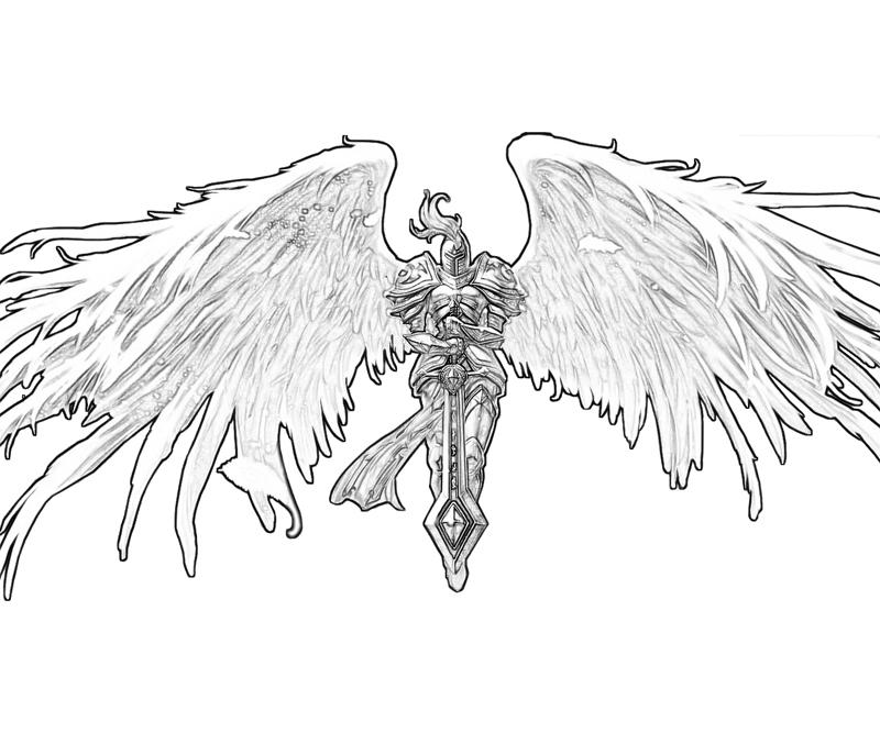 Kayle (League Of Legends) coloring #11, Download drawings
