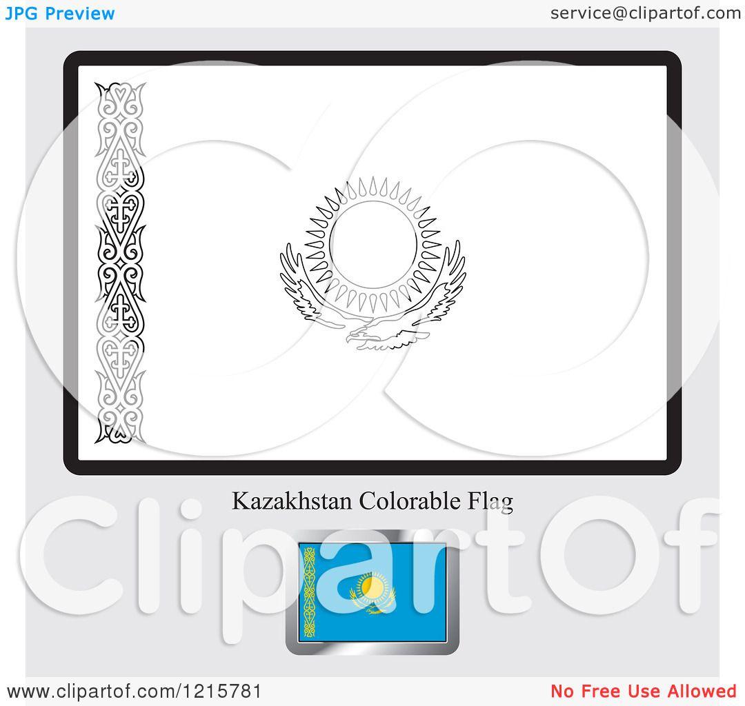 Kazakhstan coloring #5, Download drawings