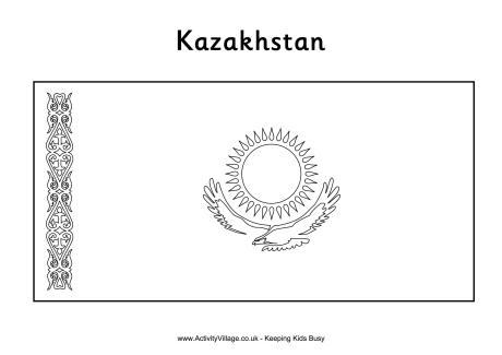 Kazakhstan coloring #20, Download drawings