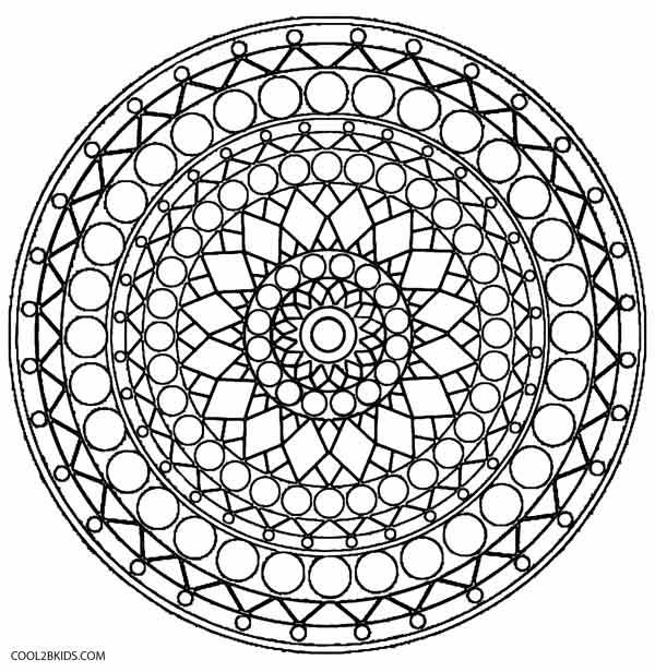 Keleidoscope coloring #19, Download drawings