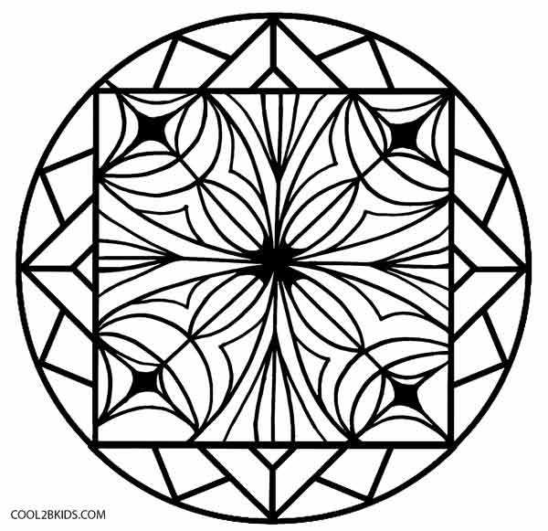 Keleidoscope coloring #16, Download drawings