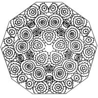 Keleidoscope coloring #1, Download drawings