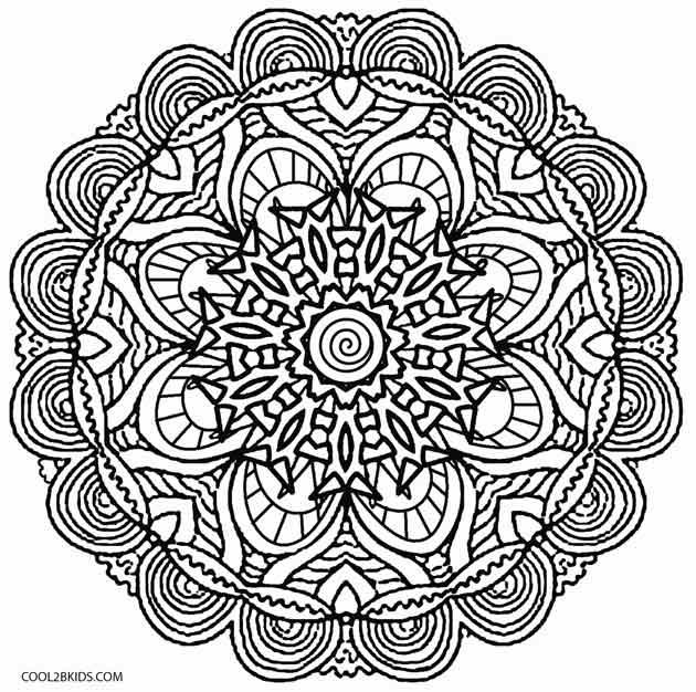 Kelidescope coloring #4, Download drawings