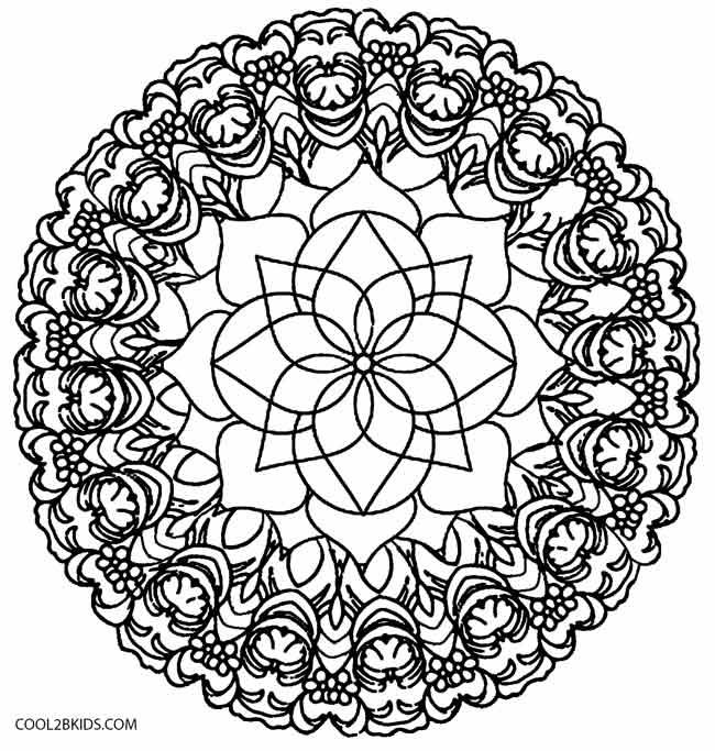 Keleidoscope coloring #20, Download drawings