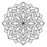 Keleidoscope coloring #6, Download drawings