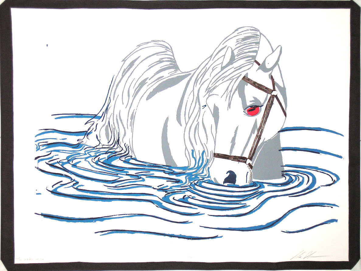 Kelpie coloring #2, Download drawings
