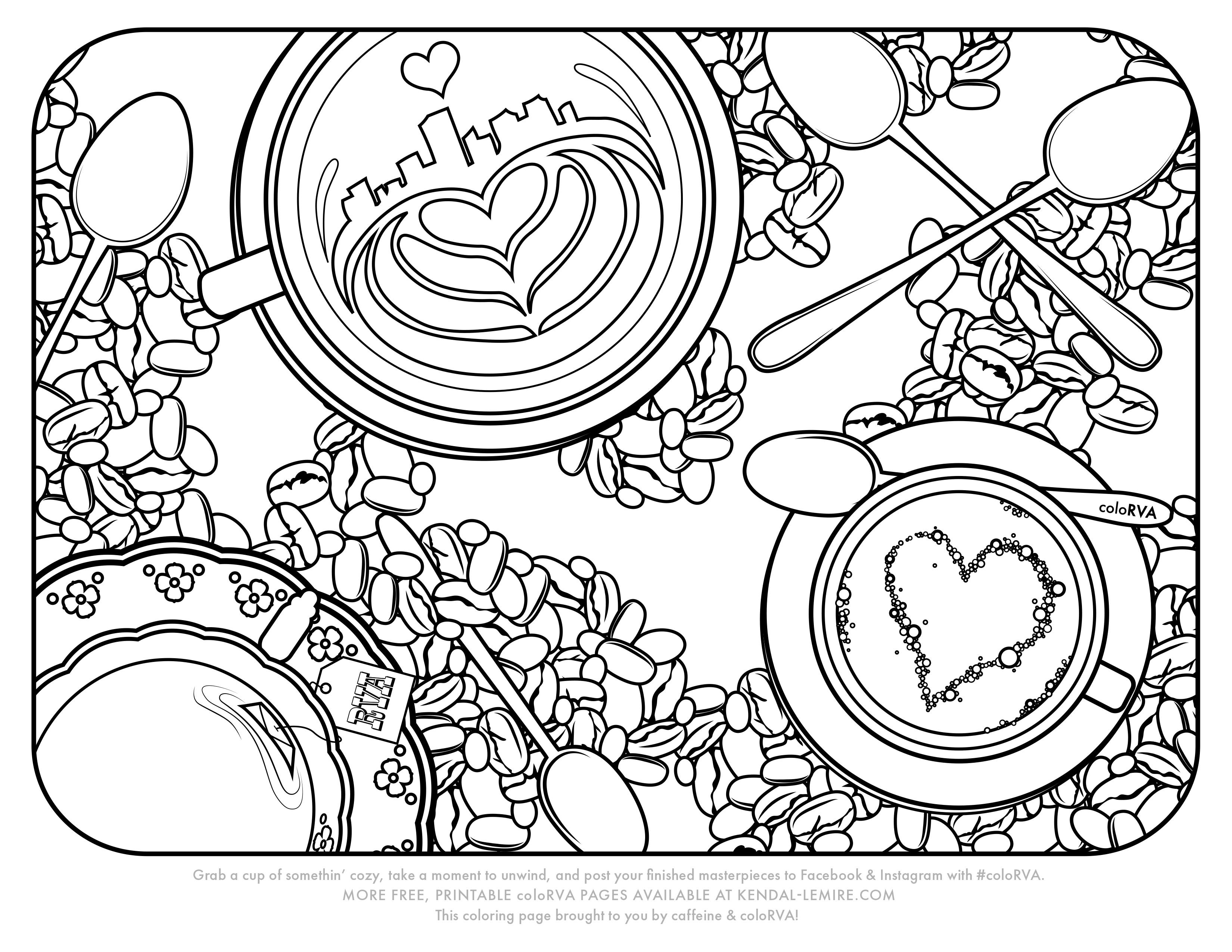 Kendal coloring #1, Download drawings