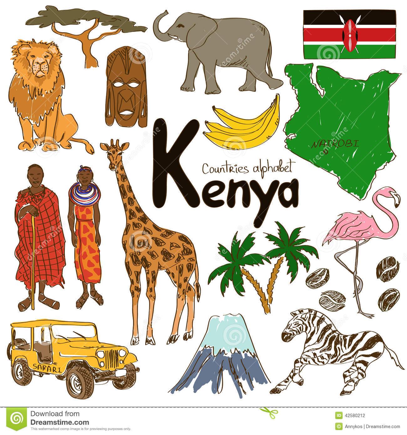 Kenia clipart #19, Download drawings