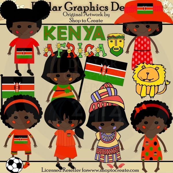 Kenia clipart #2, Download drawings