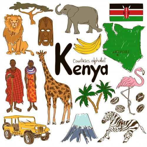 Kenya clipart #10, Download drawings