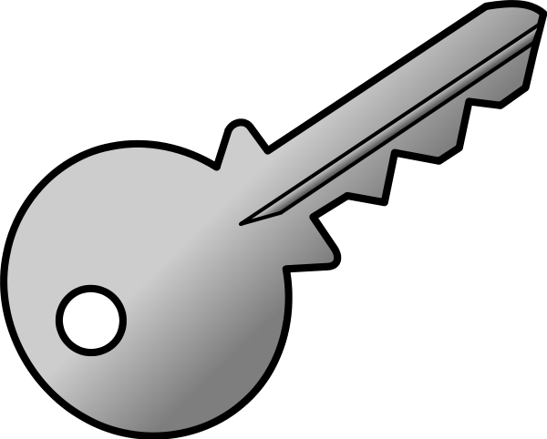 Key clipart #2, Download drawings