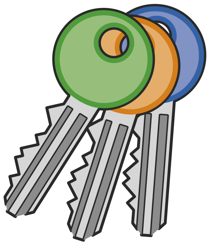 Key clipart #8, Download drawings