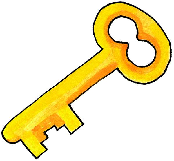 Key clipart #20, Download drawings