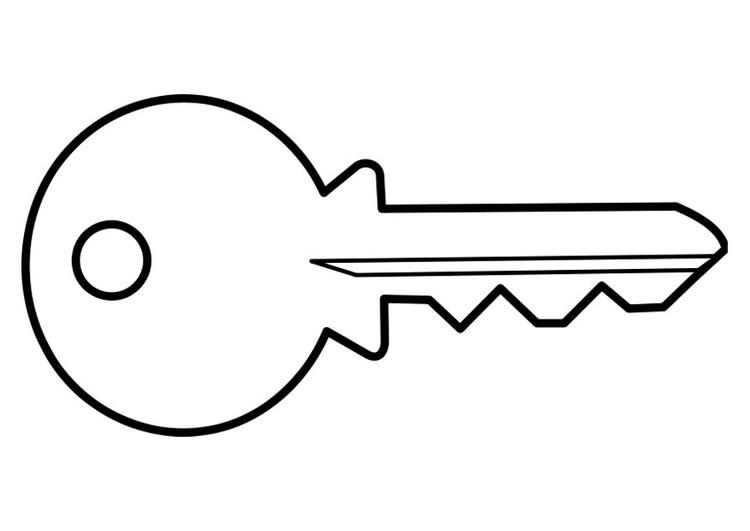 Key coloring #14, Download drawings