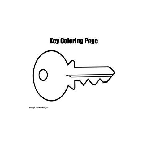 Key coloring #2, Download drawings