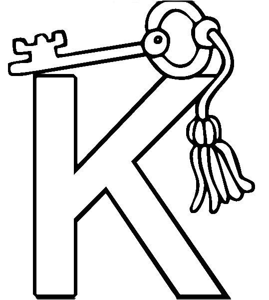 Key coloring #5, Download drawings