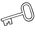 Key coloring #1, Download drawings