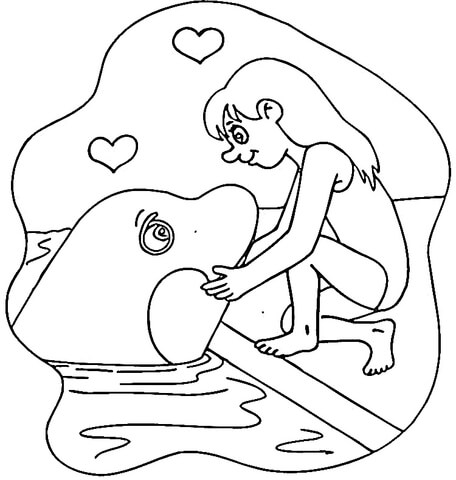 Killer Whale coloring #15, Download drawings
