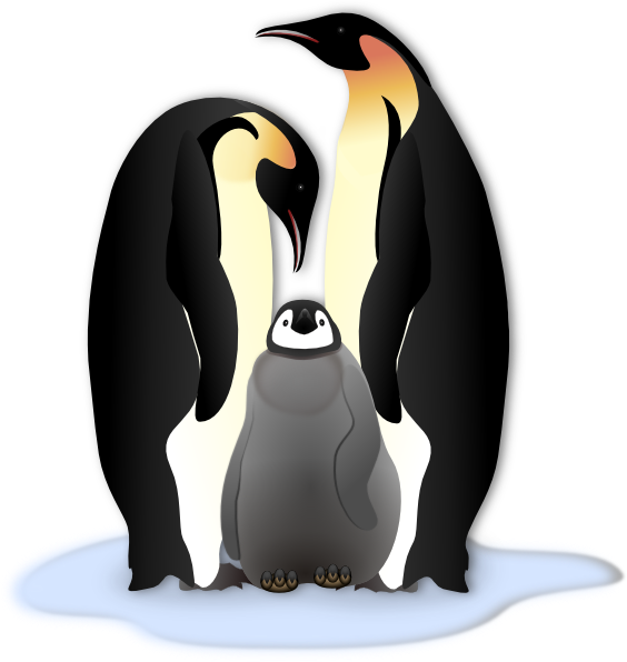 King Emperor Penguins clipart #6, Download drawings