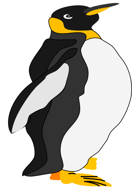 King Emperor Penguins clipart #3, Download drawings