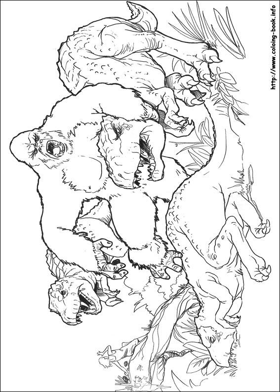 King Kong coloring #17, Download drawings