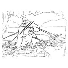 King Kong coloring #6, Download drawings