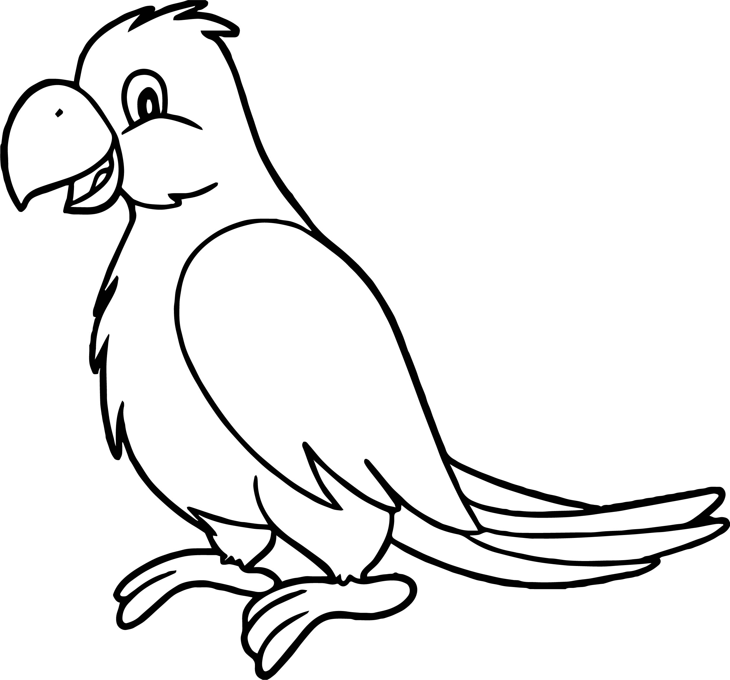 King Parrot coloring #19, Download drawings