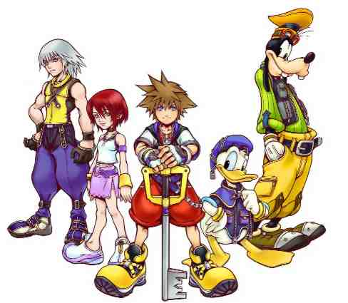 Kingdom Hearts clipart #1, Download drawings