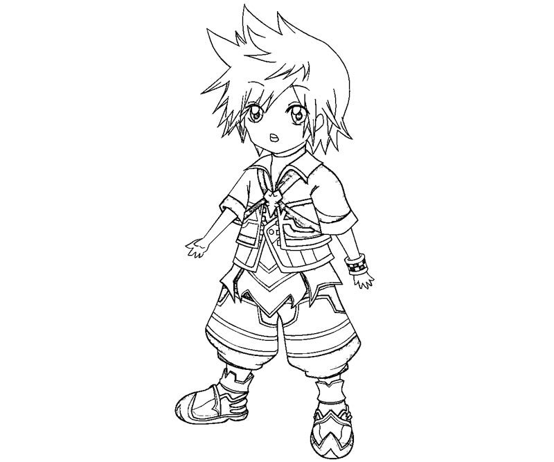 Kingdom Hearts coloring #11, Download drawings