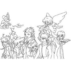 Kingdom Hearts coloring #3, Download drawings